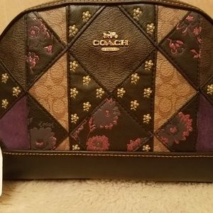 Signature Coach Patchwork Studded NWT